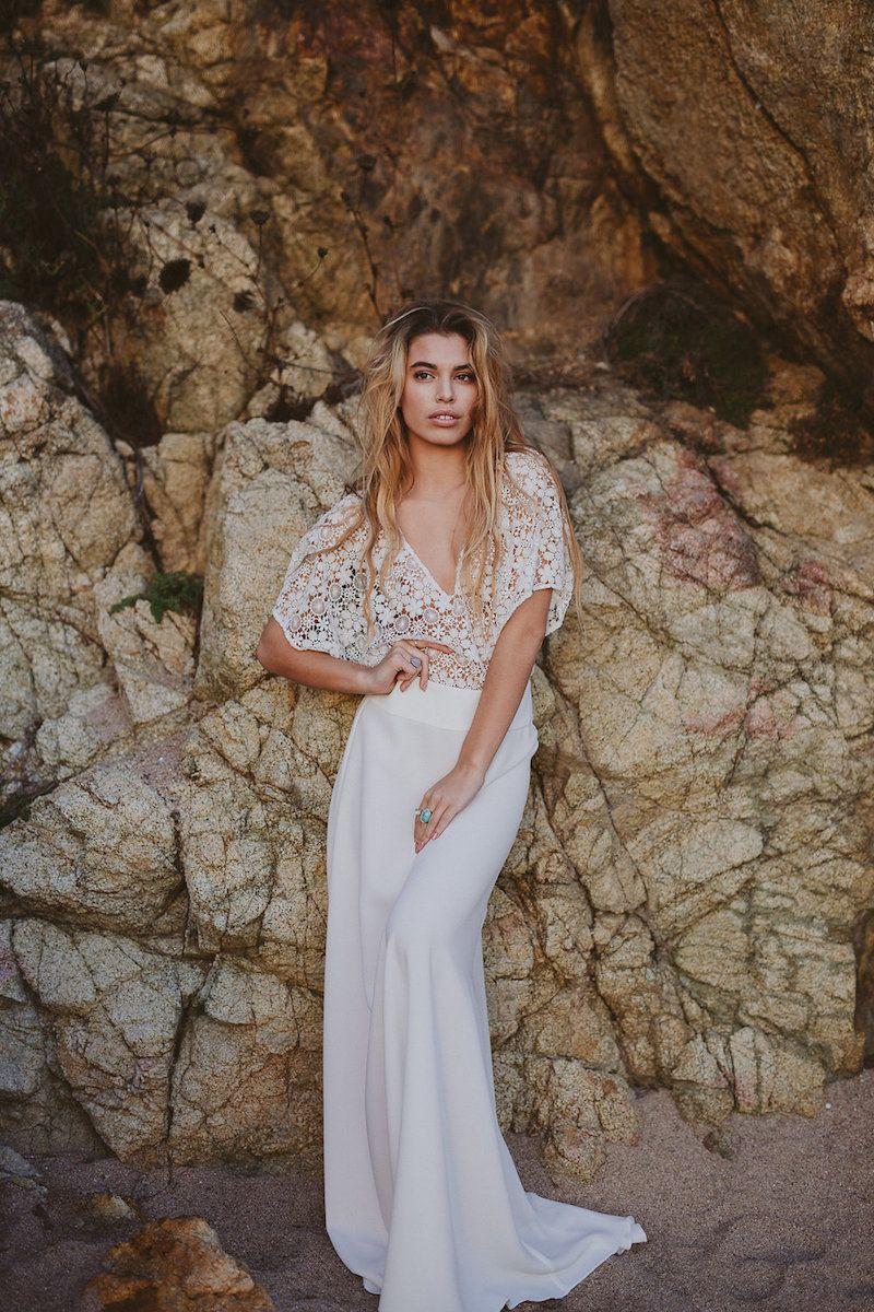 Ein Bohemien Braut Traum: Immaclé Barcelona Hochzeit Dress ...
