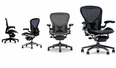 Aeron Chair Herman Miller Highly Adjustable With Posturefit