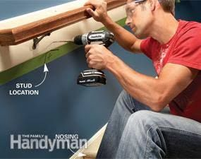 Best How To Fix Loose Stair Handrails Stair Handrail Stairs Handrails 400 x 300