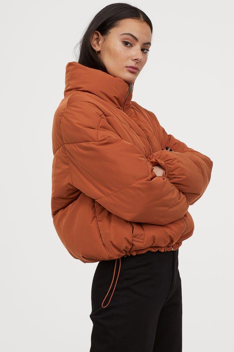 Boxy Puffer Jacket | Puffer jacket outfit, Puffer jacket ...