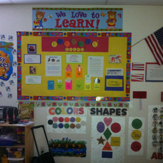 Bulletin Board Ideas 2 Year Olds: Circle Time Area! 19-2 Year Olds. They Love It. Shapes N