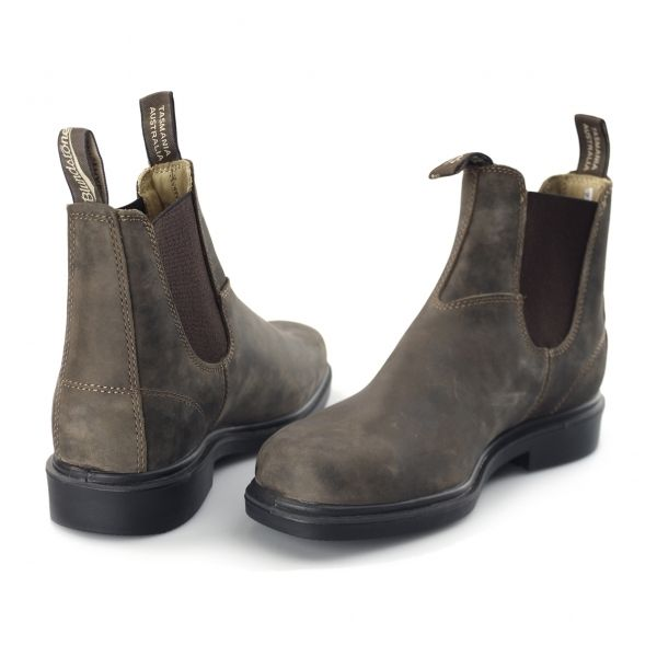 Blundstone 1306 Soft Nubuck Chelsea Dress Boots Brown  Buy At Shuperb