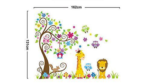 Amazon.com: Tia*Wall stickers for kids room Baby Nursery Boys & Girls…