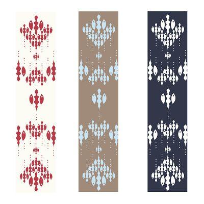 Diseños de telares para estampado en serigrafía,