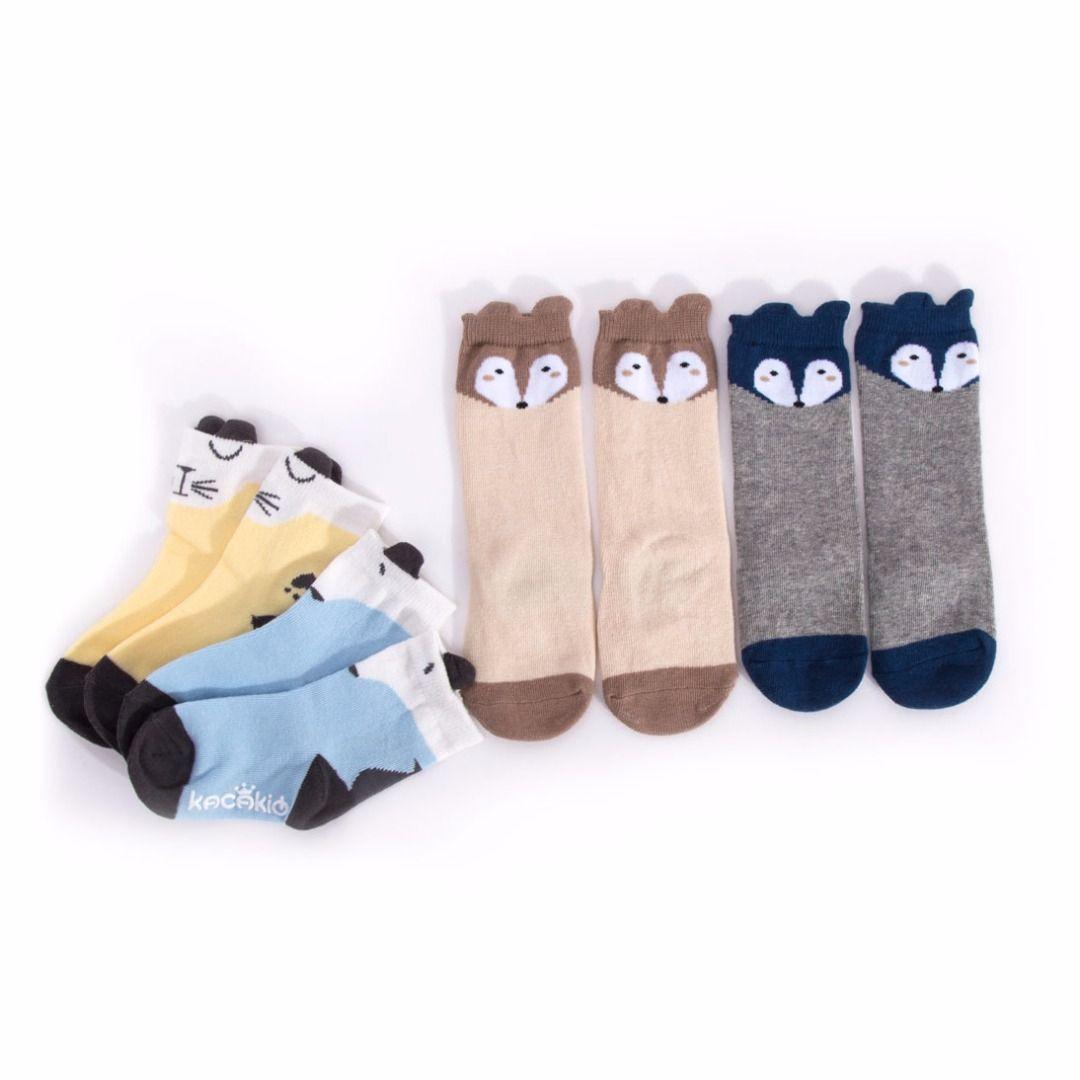 Adorable Fox Socks 4 pack 43 discount PatPat Mom