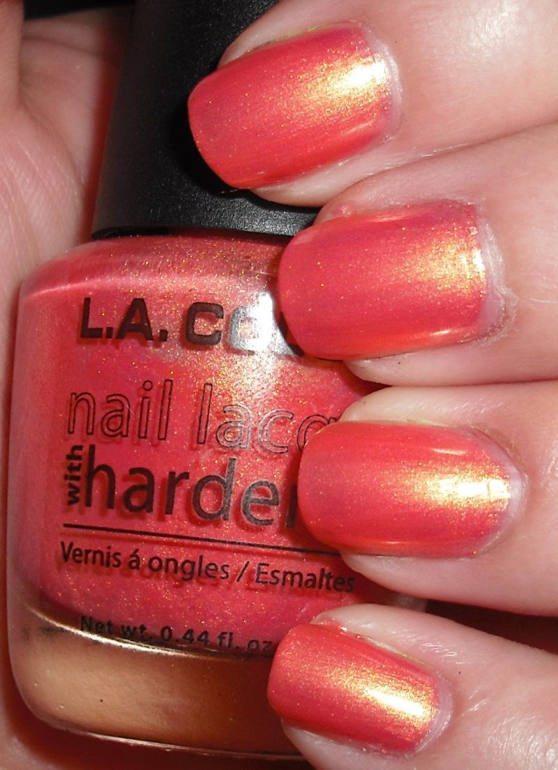 LA Colors Nectar Nail polish