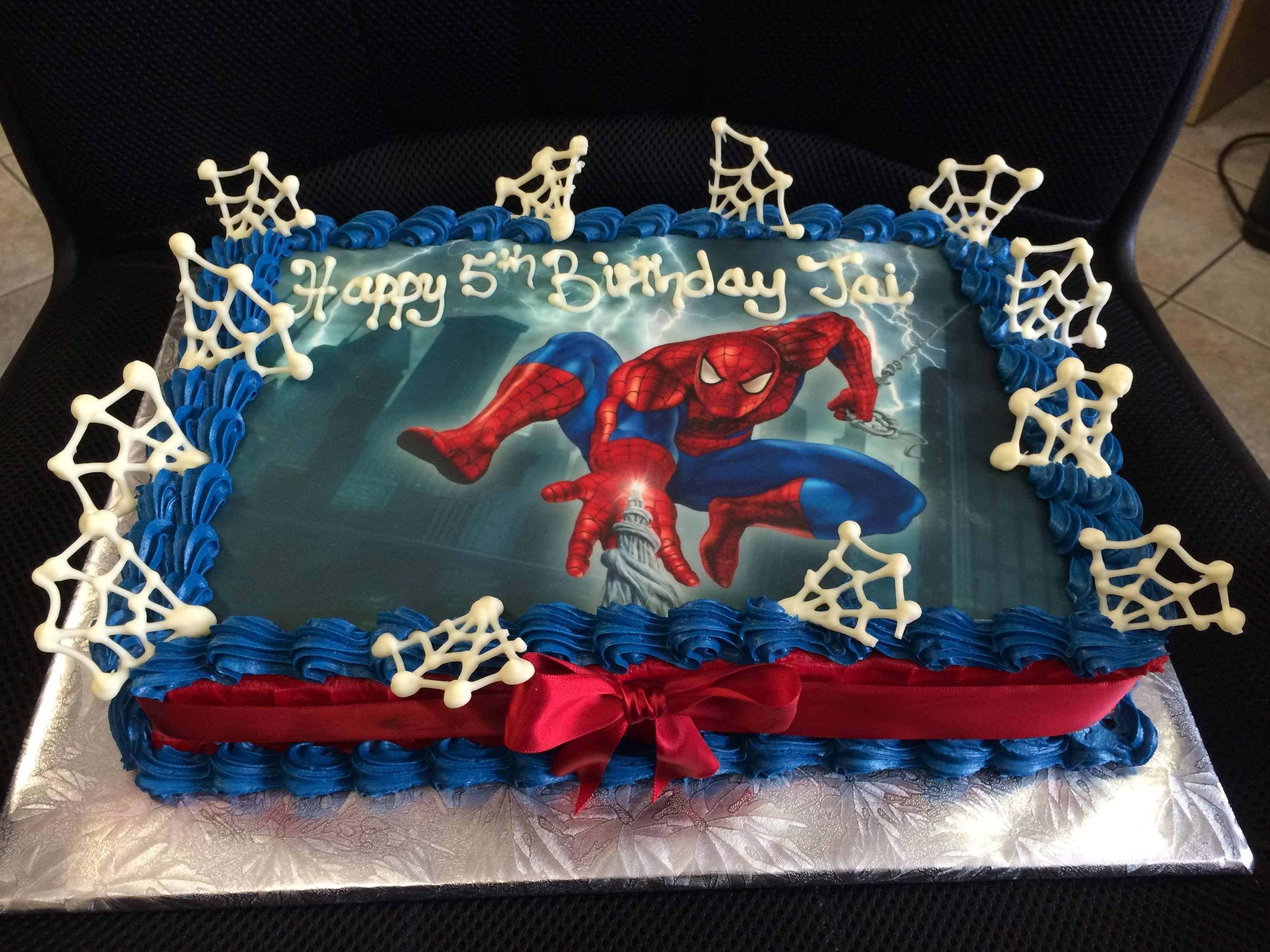 Hero Factory Cake