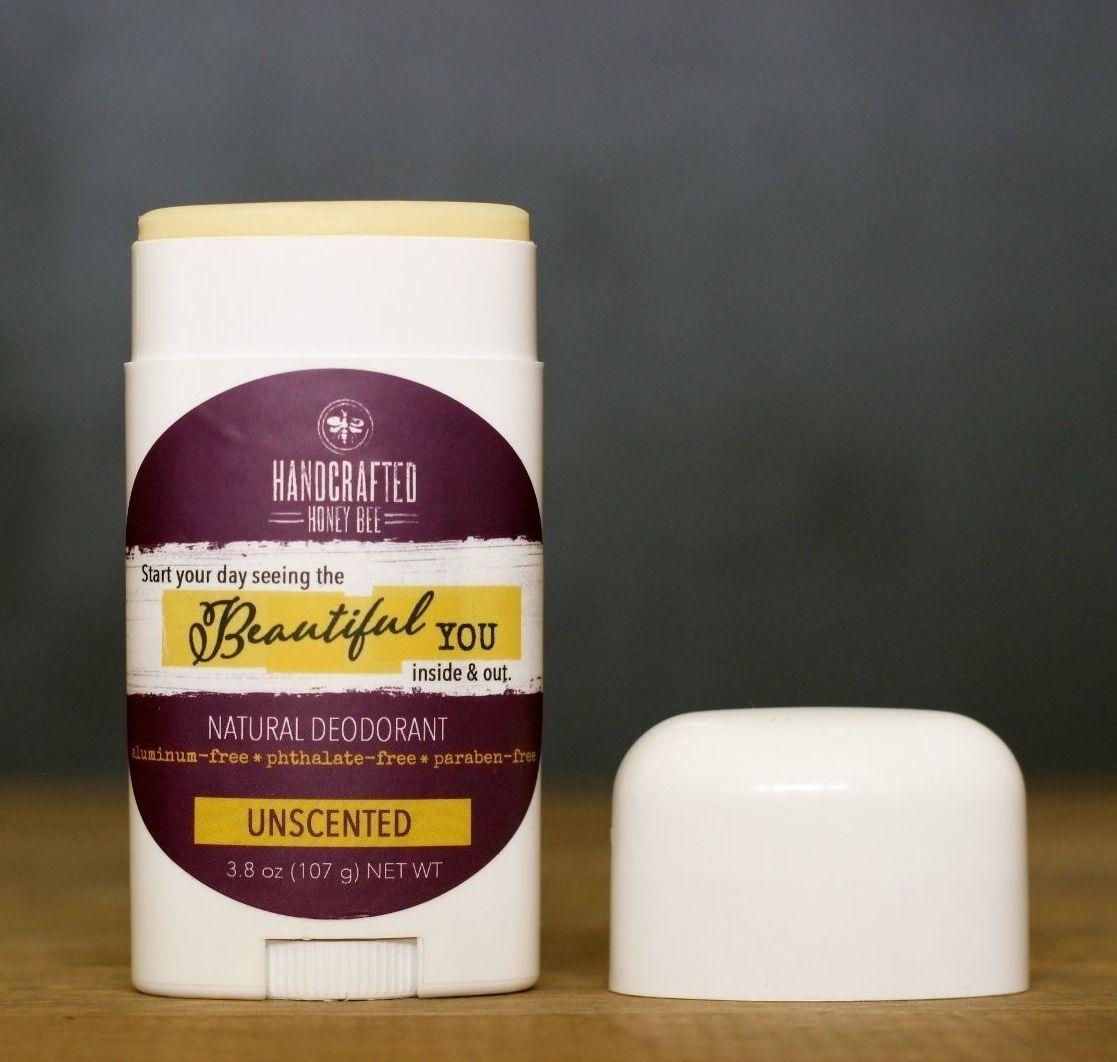 Handcrafted Honey Bee Beautiful You Probiotic Deodorant