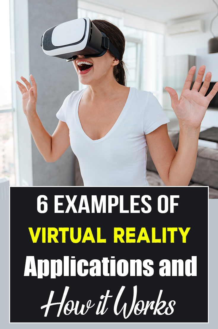 We will show you in which areas virtual reality is used with