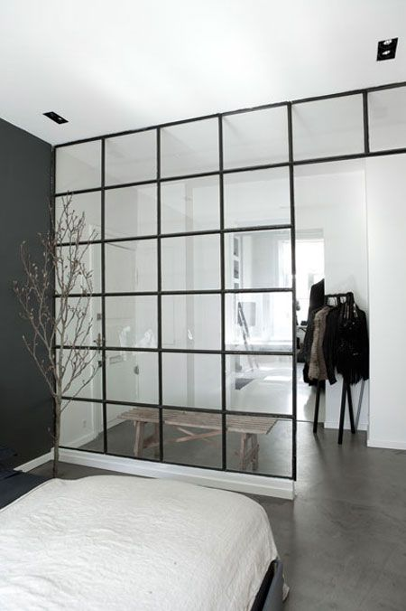 a cool and industrial nordic style cool bedrooms pinterest haus schlafzimmer und raum. Black Bedroom Furniture Sets. Home Design Ideas