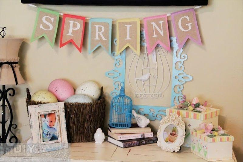 Προοετοιμάστε το σπίτι σας για το Πάσχα Με εύκολους τρόπους.