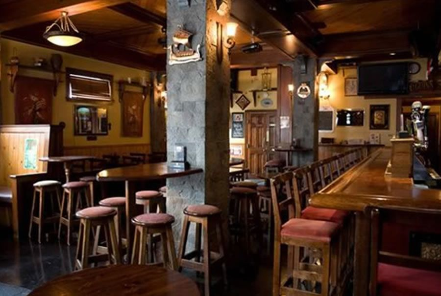 Unique Restaurant Interior Design of The Chieftain Irish Pub and ...