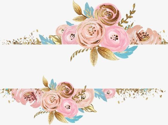 Watercolor Painting Column Flower Clipart Floral Watercolor Watercolor Flowers
