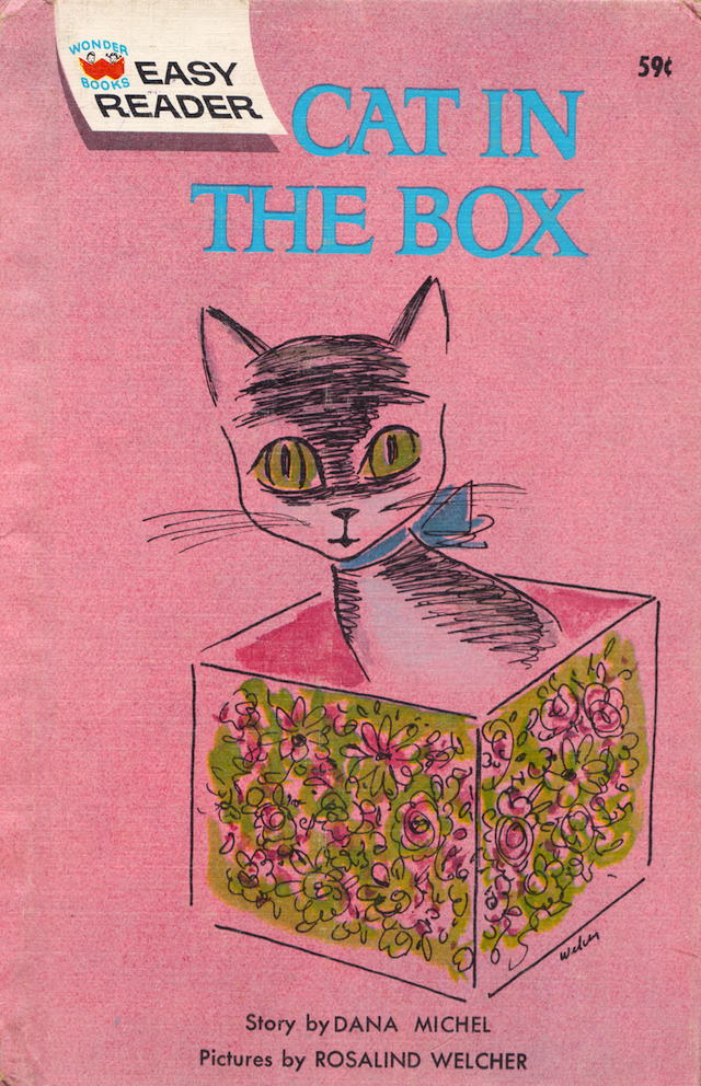 Cat In The Box By Dana Michel Illustrated Rosalind Welcher 1963
