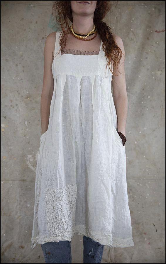 ❤ white dress