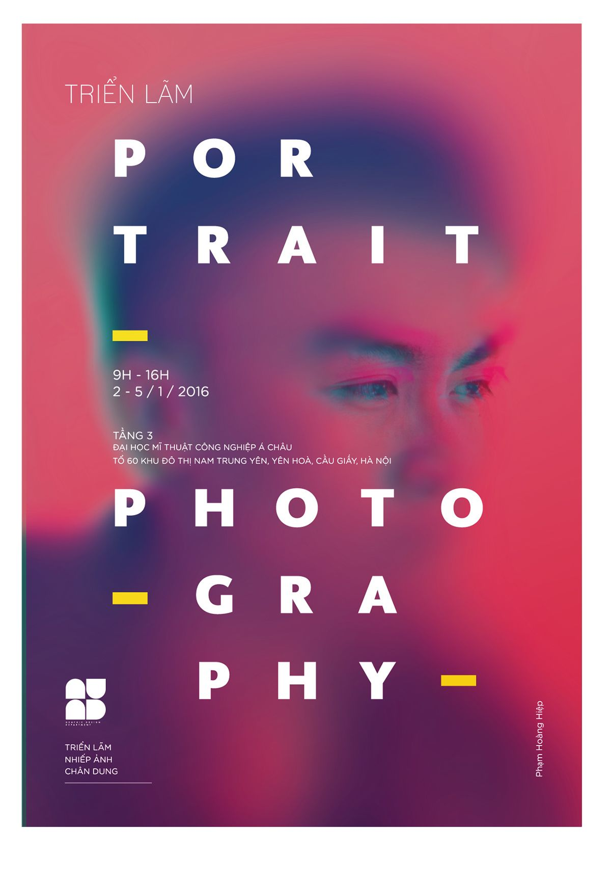 Poster design trends 2015 - Auad Poster Exhibition On Behance More