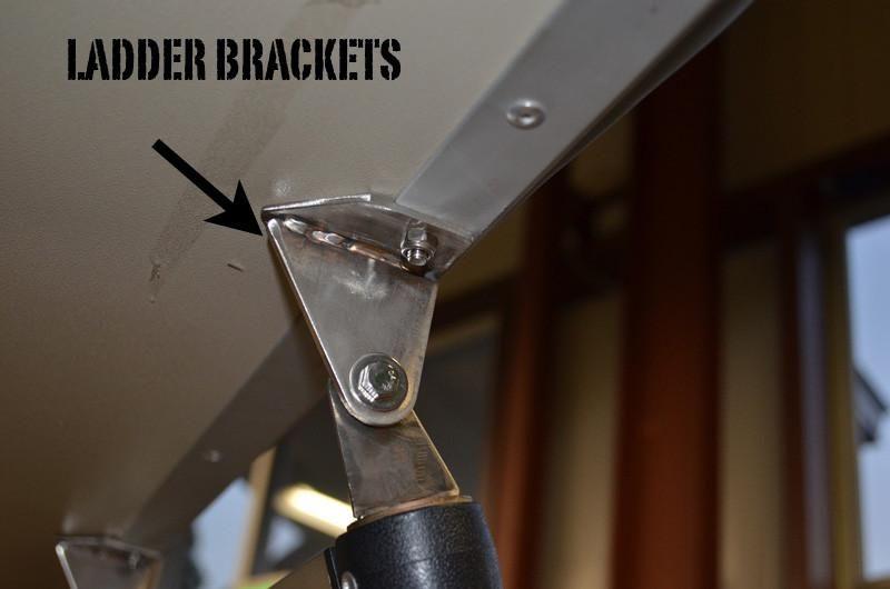 Ladder Mounting Bracket Set Bracket Mounting Brackets Ladder