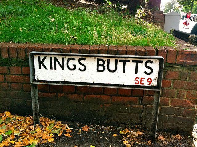 cool street name, uk
