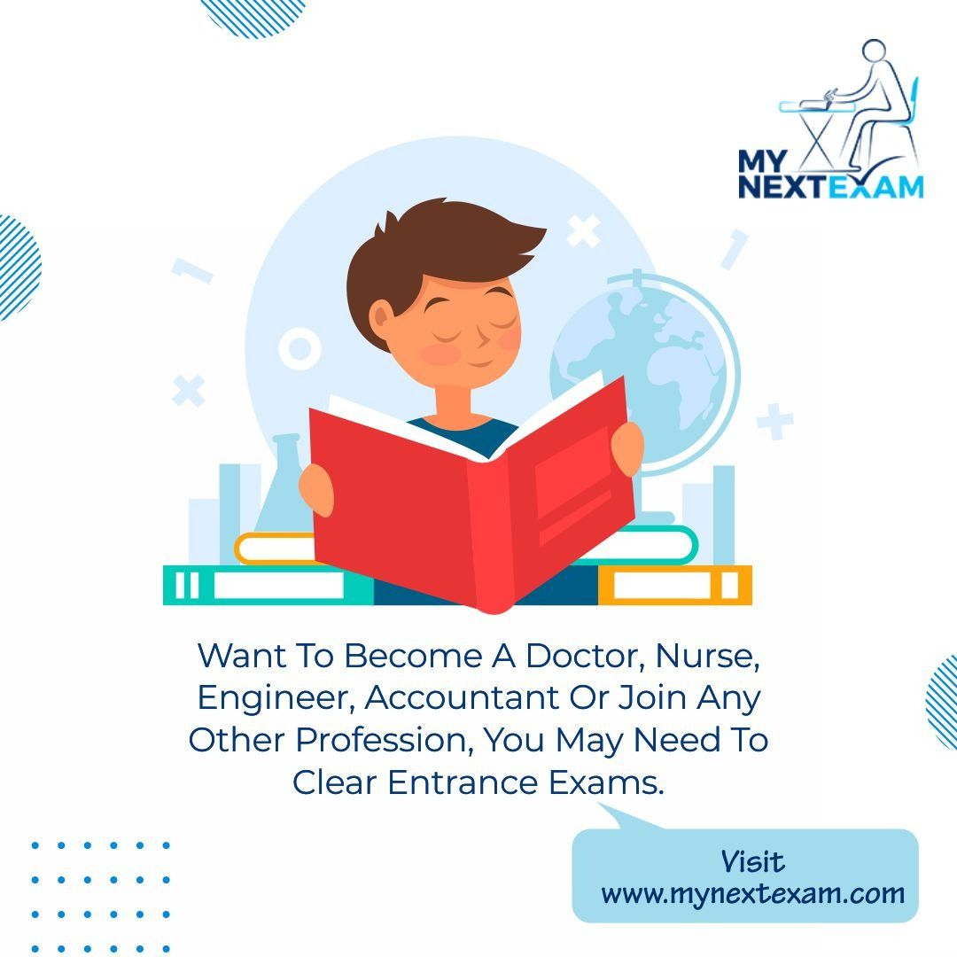 Want To Become Doctor Or Any Other Profession Entrance Exam Exam Career Counseling