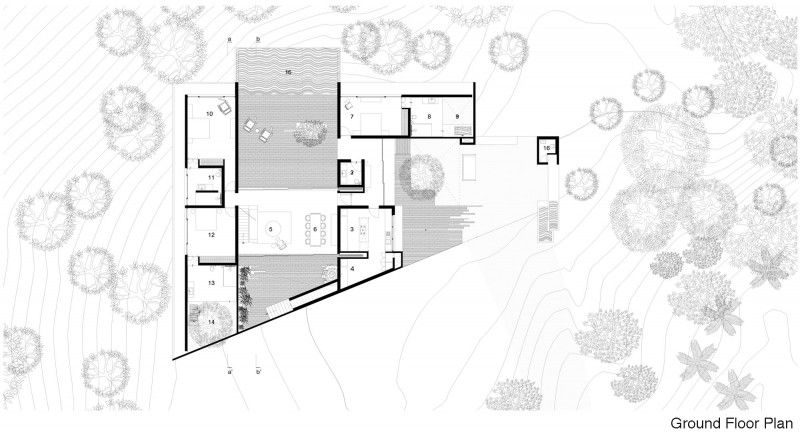 The House Cast in Liquid Stone by SPASM Design Architects Design