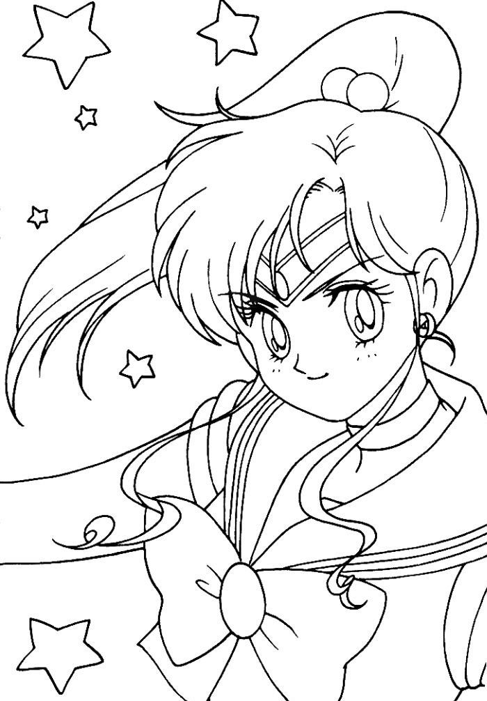 Sailor Jupiter Cute Beautiful Coloring Pages For Kids Gz9 Printable Sailor Moon Coloring Page Sailor Moon Coloring Pages Moon Coloring Pages Sailor Moon Cat