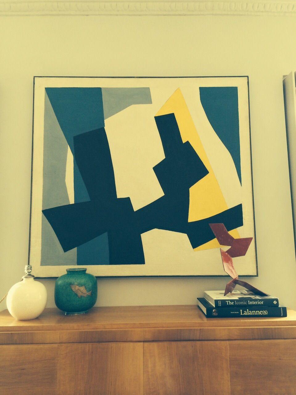 René Roche chez Alexis #art #home #deco #modernart #painting ...