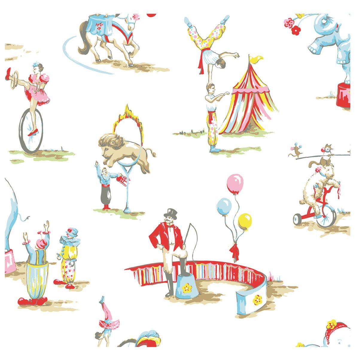 Elegant Circus Wallpaper | CathKidston