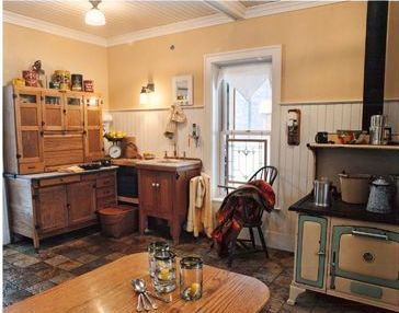 old farm house kitchen functions as an old fashioned farmhouse