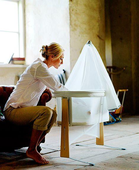 transparent and modern bassinet cradle by babybjorn | moskitonetz ... - Babybjorn Babywiege Design Harmony