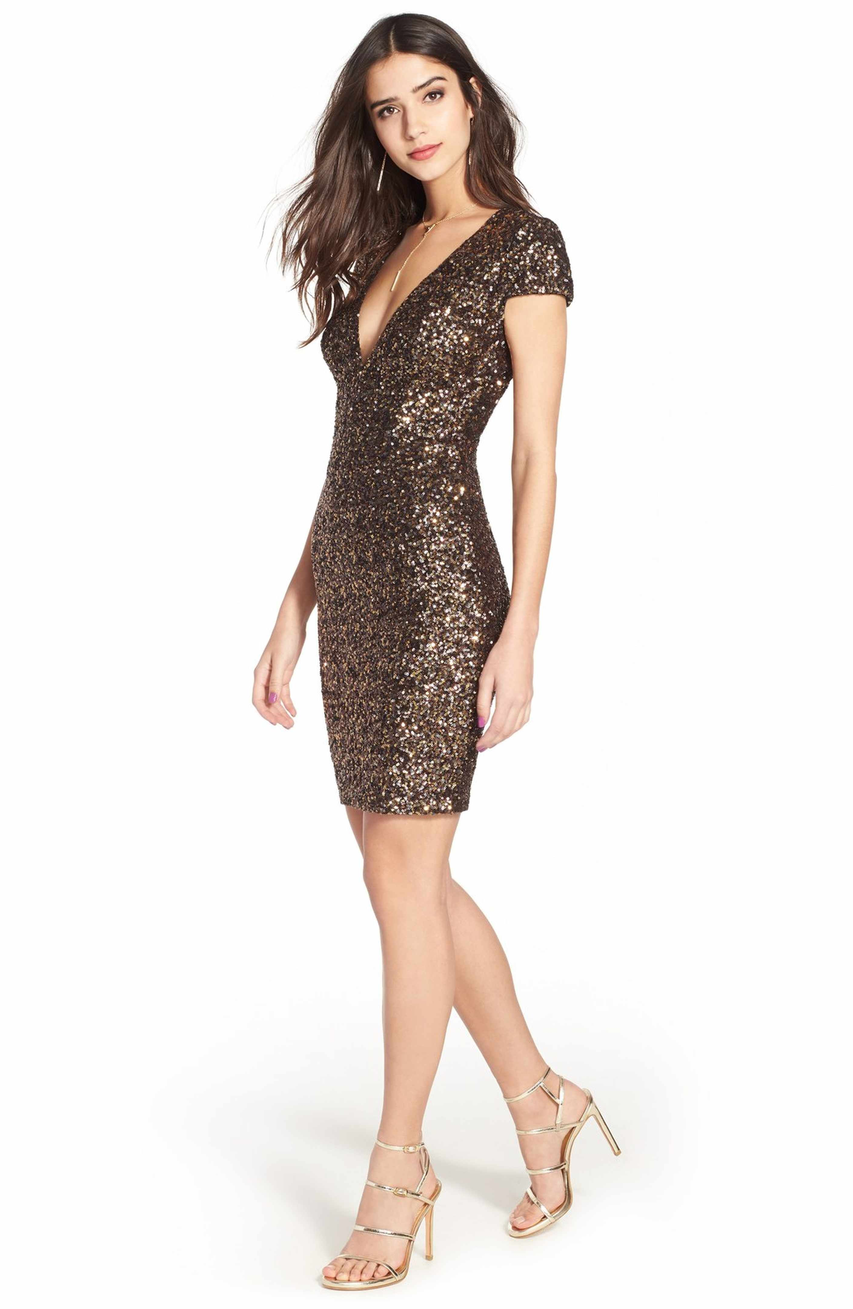 The Zoe Sequin Minidress is stunning in all 6 colors! By Dress the ...