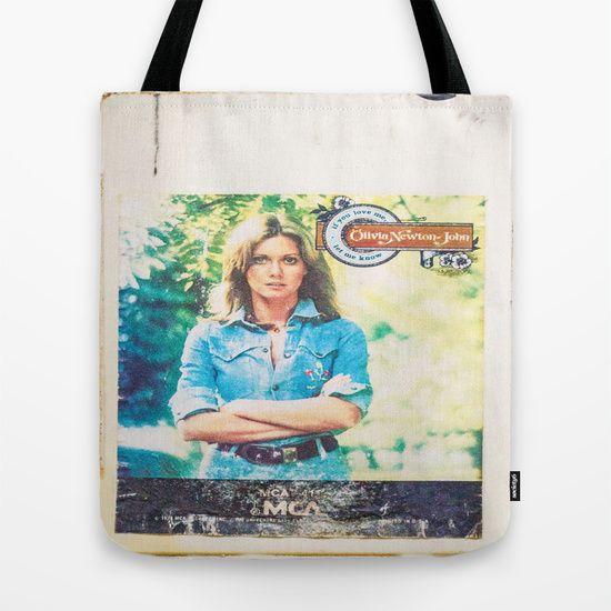 Olivia Newton-John Tote Bag