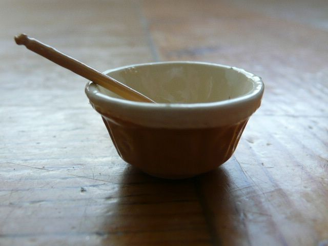 Mixing Bowl And Spoon