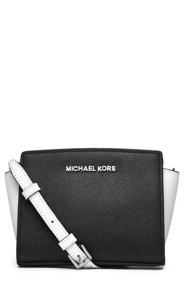 Michael Kors Mini Selma Saffiano Leather Messenger Bag Available At Nordstrom