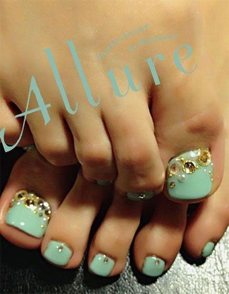 Toe Nail Art Designs | Nails | Pinterest | Toe nail art, Wedding ...
