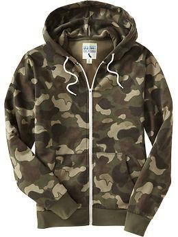 Men s Zip-Front Hoodies  344ae5b114a