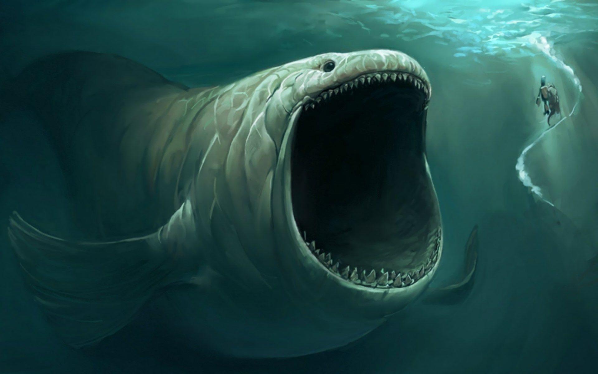 1415790, sea monster category - desktop wallpaper for sea monster ...