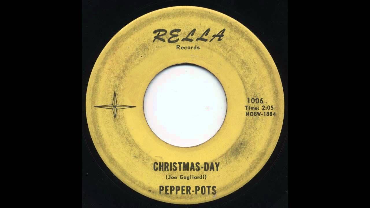 Pepper-Pots - Christmas-Day | Original Christmas Music | Pinterest ...