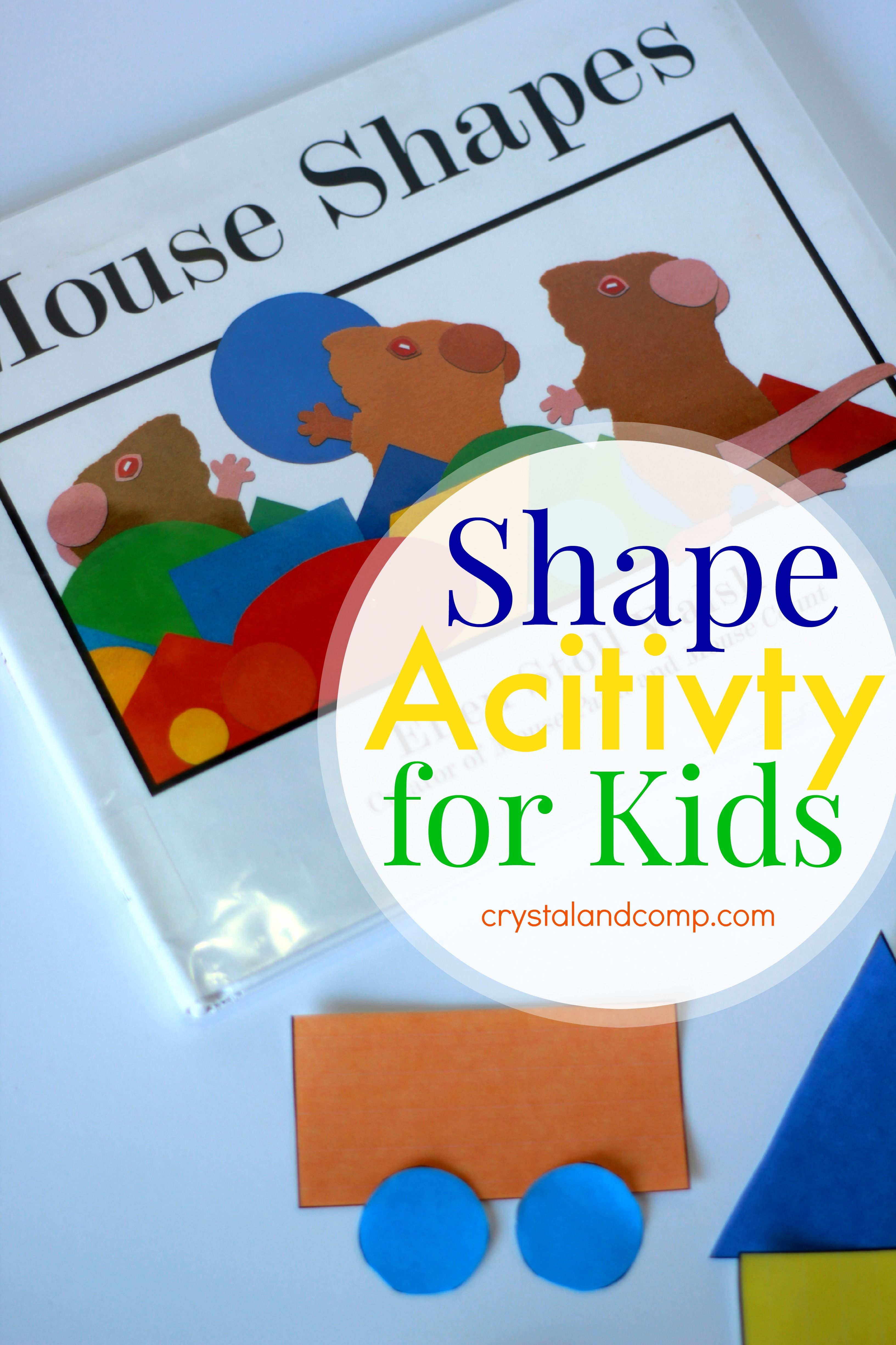 Shape Activities For Kids With Images
