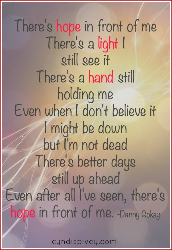 Lyric even me lyrics : Sunday Encouragement-There's Hope | Encouragement, Christian and Songs