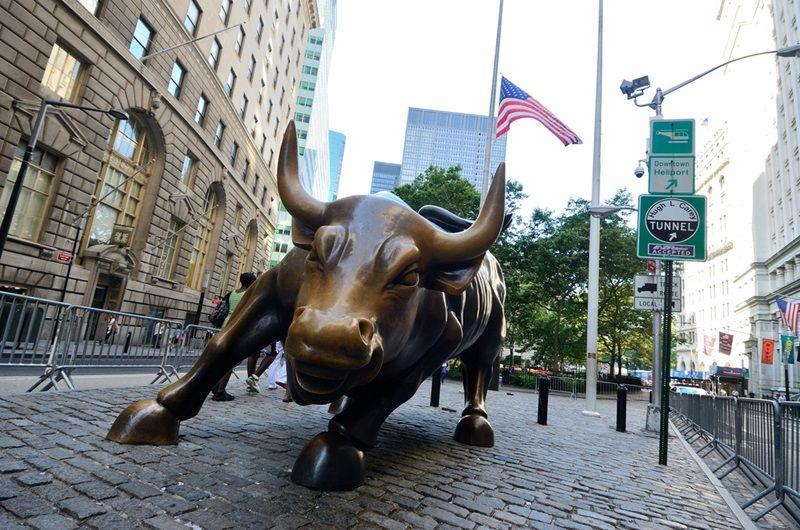 Charging Bull new york Artist Arturo Di Modica Charging