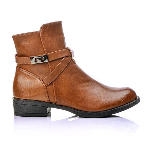 def4db40802 Γυναικεία Μποτάκια Δερματίνη , Χαμηλά | Blackout.shoes | fashion ...
