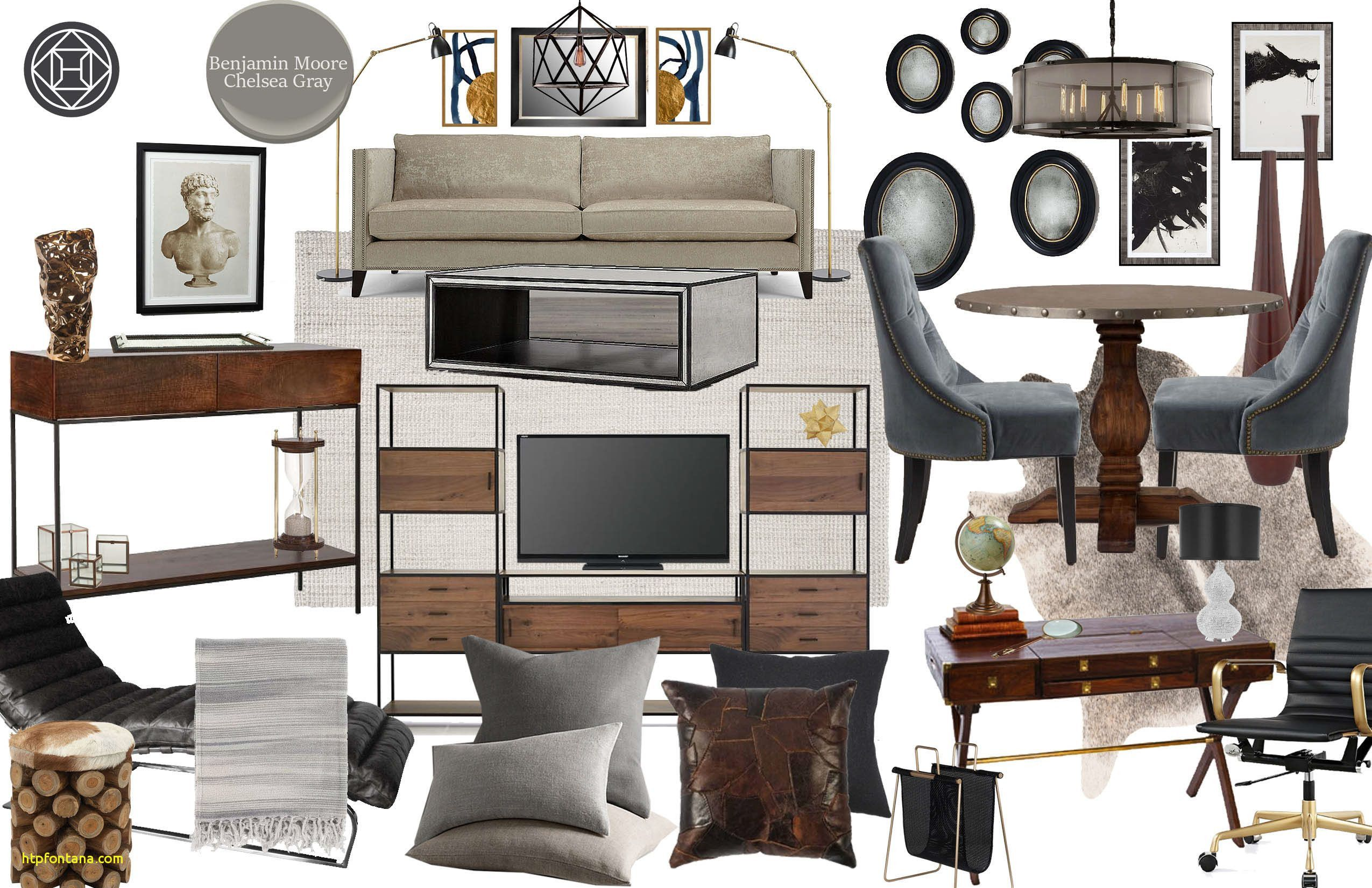living room design style quiz elegant industrial glam