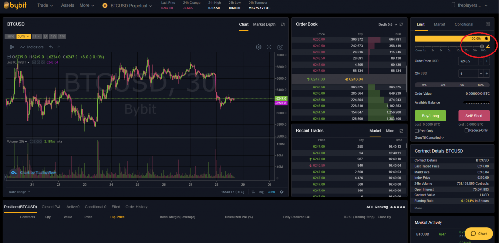 Leveraged margin trading with Bybit in 2020 Trading