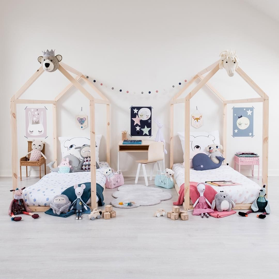 Best The Prettiest Shared Rooms For Girls Shared Girls 400 x 300