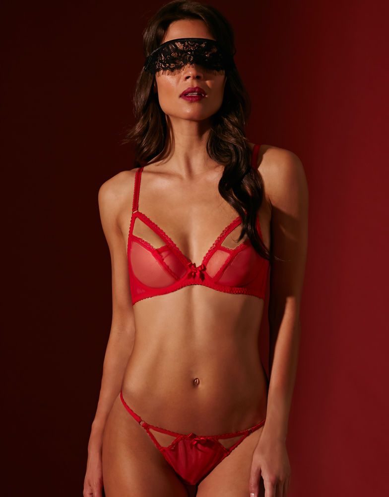 78e9483b66 ...  seductive  set  underwear  under  figleaves  sexy  model  woman  bra   body  erotique  erotic. L Agent by Agent Provocateur Mariona Non Padded  Open ...