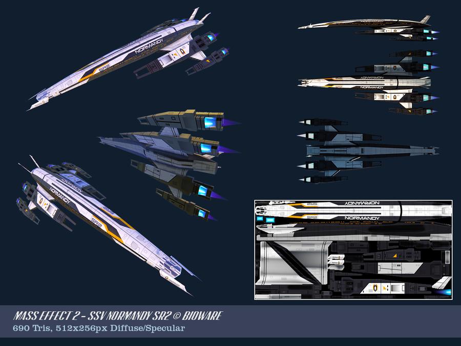 Ssv Normandy Sr 2 18 Ship Replica: SSV Normandy SR2 Mass Effect 2 By OliverJanoschek