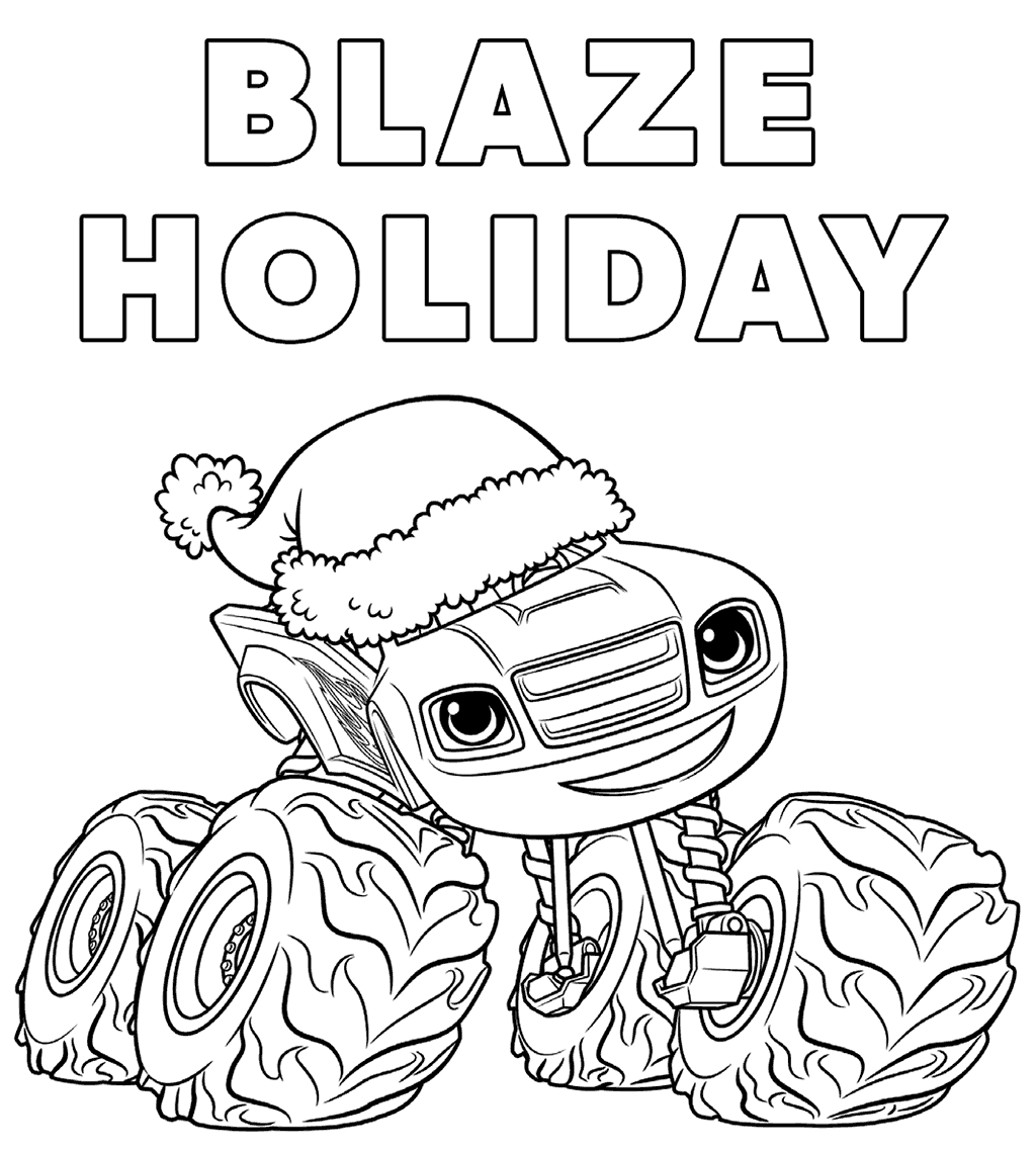 Blaze And The Monster Machines Coloring Pages | Monsters