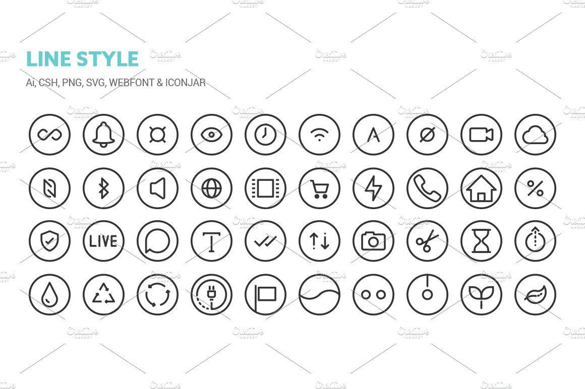 Circle Icons Icon, Templates, Ancient symbols