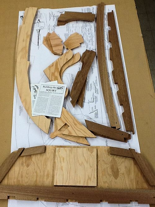 Build Your Own 10 Runabout With A Pre Cut Wood Frame Kit Squirt