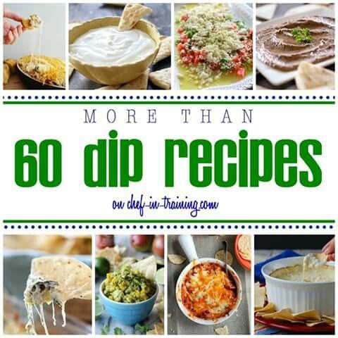 60 dip recipes